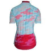 - Camisa Feminina Ciclismo Mauro Ribeiro Camuflada Az