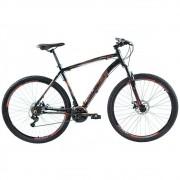 Bicicleta 29 Vision GT X4 Preto/Laranja Neon Tamanho 19