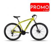Bicicleta Aro 29 Ducce Vision GT X2 Amarelo Neon TAM 17