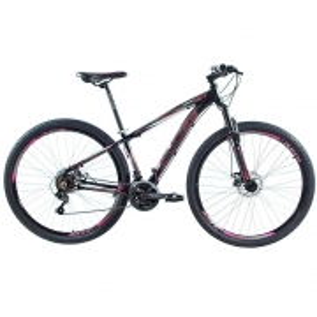 Bicicleta Aro 29 Vision GT X2 Preto/Pink TAM 15