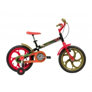 Bicicleta Caloi Infantil Power Rex Aro 16