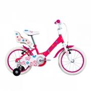 Bicicleta Groove Infantil My Bike Aro 16 Rosa