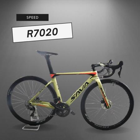 Bicicleta Speed Sava R7020 Disc Tam 51 Amarela