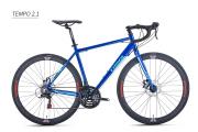 Bicicleta Trinx Tempo 2.1 AZUL/AZUL ESCURO TAM 46+ Brinde