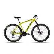 Bicicleta aro 29 Vision GT X2 Amarelo Neon TAM M