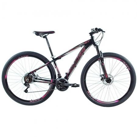 Bicicleta Aro 29 Ducce Vision GT X2 Preto/Pink TAM 17