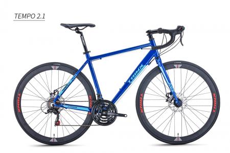 Bicicleta Trinx Tempo 2.1 AZUL/AZUL ESCURO TAM 46