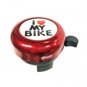 Buzina Trim Trim I Love Mt Bike - WG SPORTS