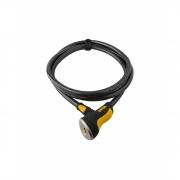 Cadeado Para Bike Onguard Akita 8039 Espiral Com Chave