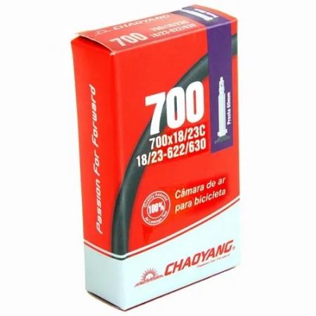 CAMARA 700X18/23 VALV PRESTA 60MM chaoyang
