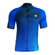 Camisa Barbedo Raglan Annecy Azul / Preto M