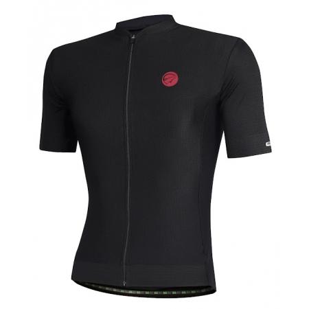 Camisa Ciclismo Mauro Ribeiro Fiber Black Masculina