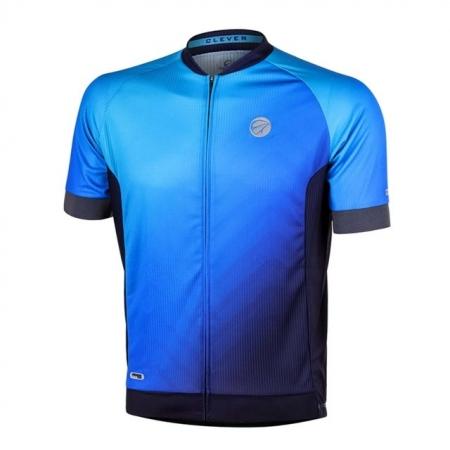 Camisa Ciclismo Mauro Ribeiro Masculina Clever Azul