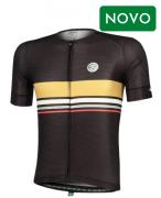 Camisa Ciclismo Mauro Riberio Horizon Preta Masculina