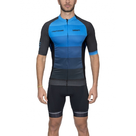 Camisa Ciclismo Supreme California (Azul) Masc 2020