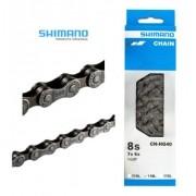 Corrente Shimano Cn Hg40 Mtb Speed 6v 7v 8v 116l + Brinde