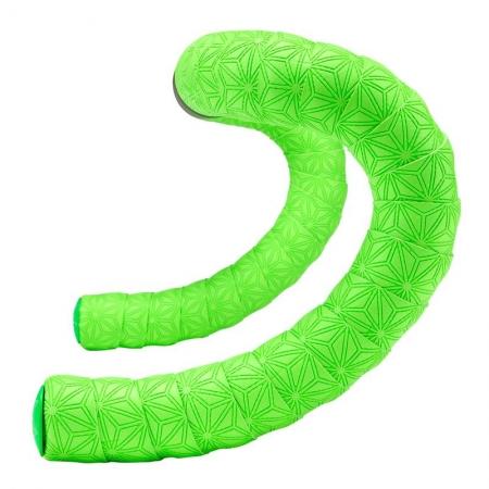 Fita de Guidão Supacaz Super Sticky Kush Verde Neon