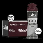 Gel Isotônico SiS Go Energy Com Cafeína 60 Ml Caixa 30 Uni