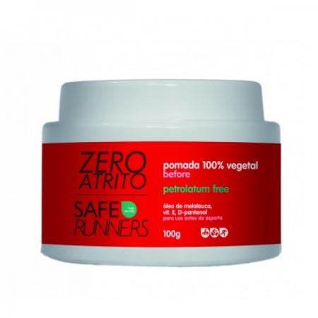 Safe Runners - Zero Atrito - Pomada 100% Vegetal 100g