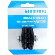 Sapata de Freio Shimano Br 4600 R50t2 Tiagra Sora para Speed