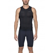 Top De Triathlon Woom Carbon Black 2020 Masculino Sem Manga