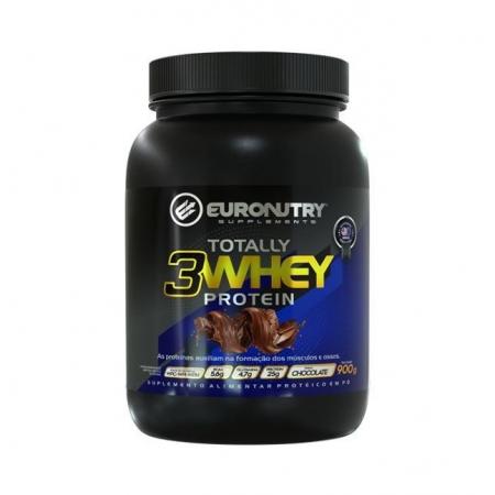 Totally Whey Euronutry 65% 3W 9OOg - Sabor Chocolate