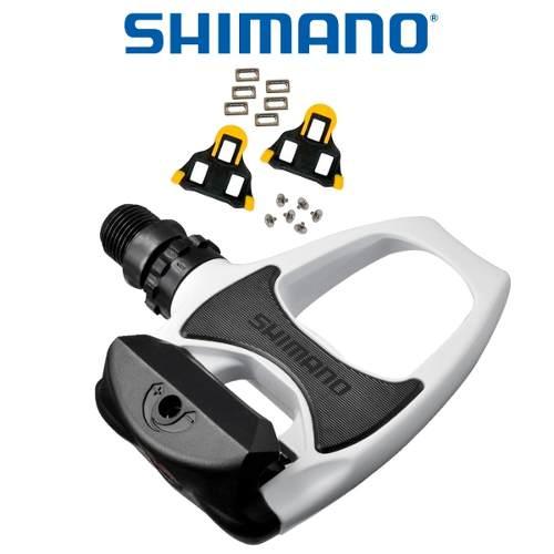 - Pedal Shimano R540 Branco + Taco Sh11 - Original