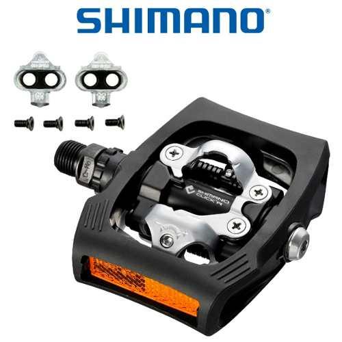 - Pedal Shimano Click,r Pd-t400 Clip E Plataforma+taco