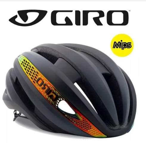 - Capacete Giro Synthe Com Mips Tam M Edição Especial Ciclismo