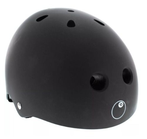 Capacete Triple Eight Ball Matte Black - P/m - Preto Promoçã