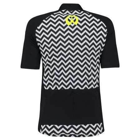 - Camisa Ciclismo Feminina Blesscycle Jersey Preta/ Neon