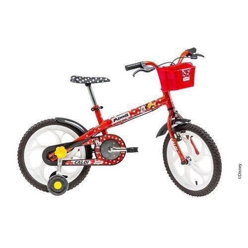 - Bicicleta Infantil Caloi Minnie Aro 16