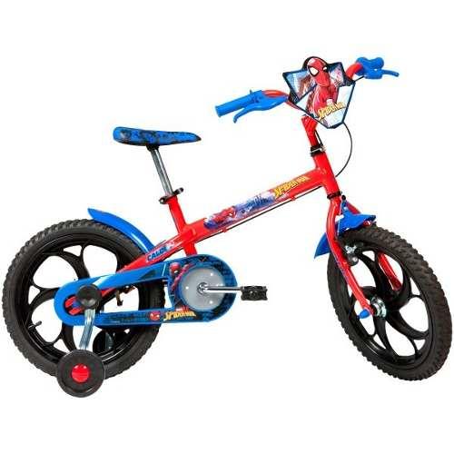- Bicicleta Infantil Caloi Spider Man