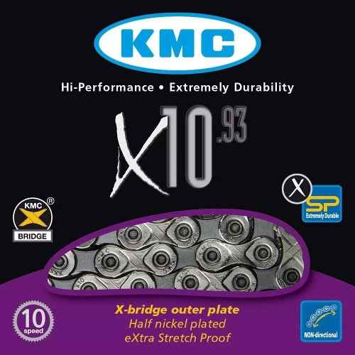 Corrente Kmc X10.93 10v 116 Links 20v 30v Com Missinglink