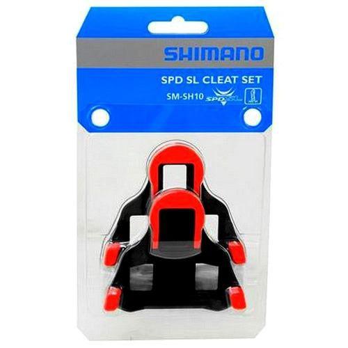 - Original Taco Shimano Spd Sl Sh 10 Vermelho 0°grau
