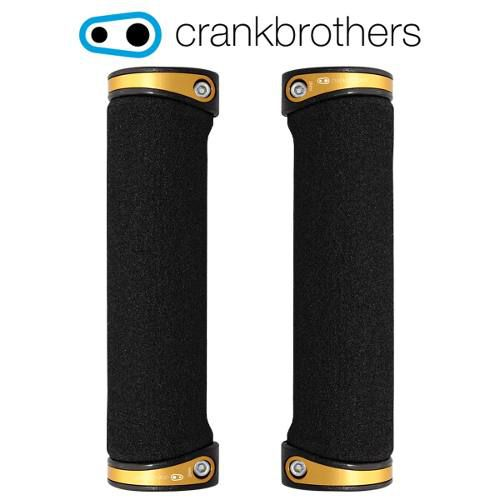 Manopla Crank Brothers Cobalt 130mm Dourado