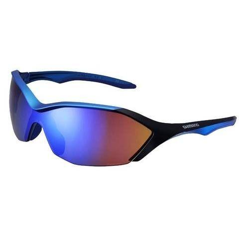 Óculos Shimano Ce-s71r-pl Azul / Preto