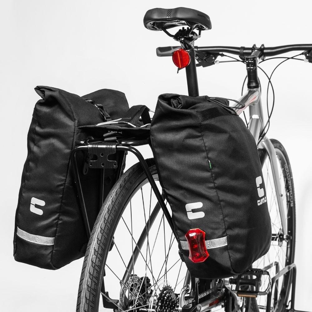 Alforge Bicicleta Fold 24 Litros Ciclismo Urbano A18 Curtlo