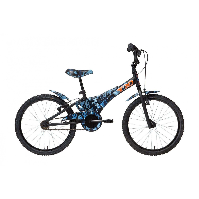 Bicicleta Groove Aro 20 Camuflada Azul Tito