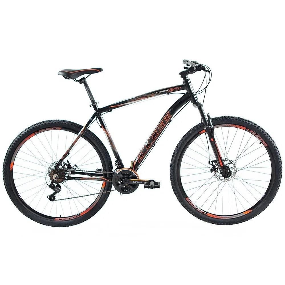 Bicicleta 29 Vision GT X2 Preto/Laranja Tamanho 15