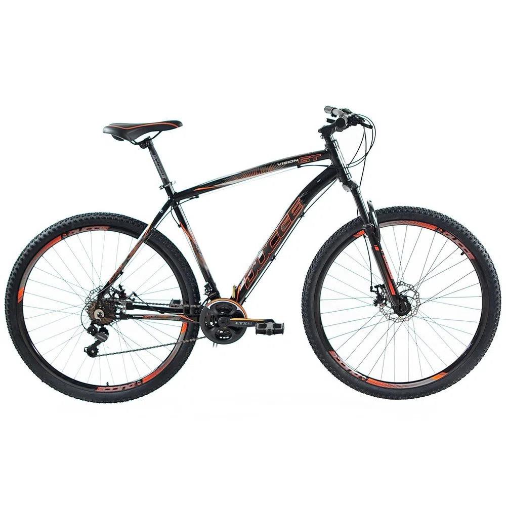 Bicicleta 29 Vision GT X4 Preto/Laranja Neon TAM L