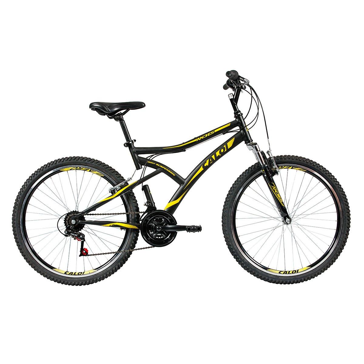 Bicicleta Caloi Andes T18R26V21 TAM 17