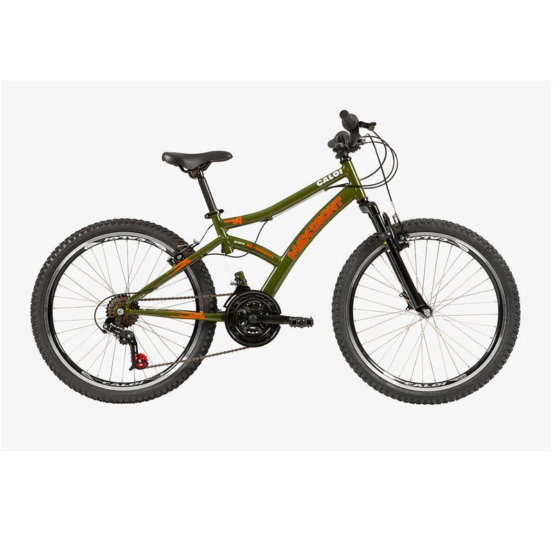 Bicicleta Caloi Max Front Aro24 Verde