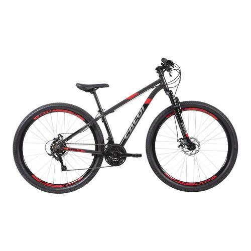 Bicicleta Caloi Supra Aro 29 TAM 17 Cinza