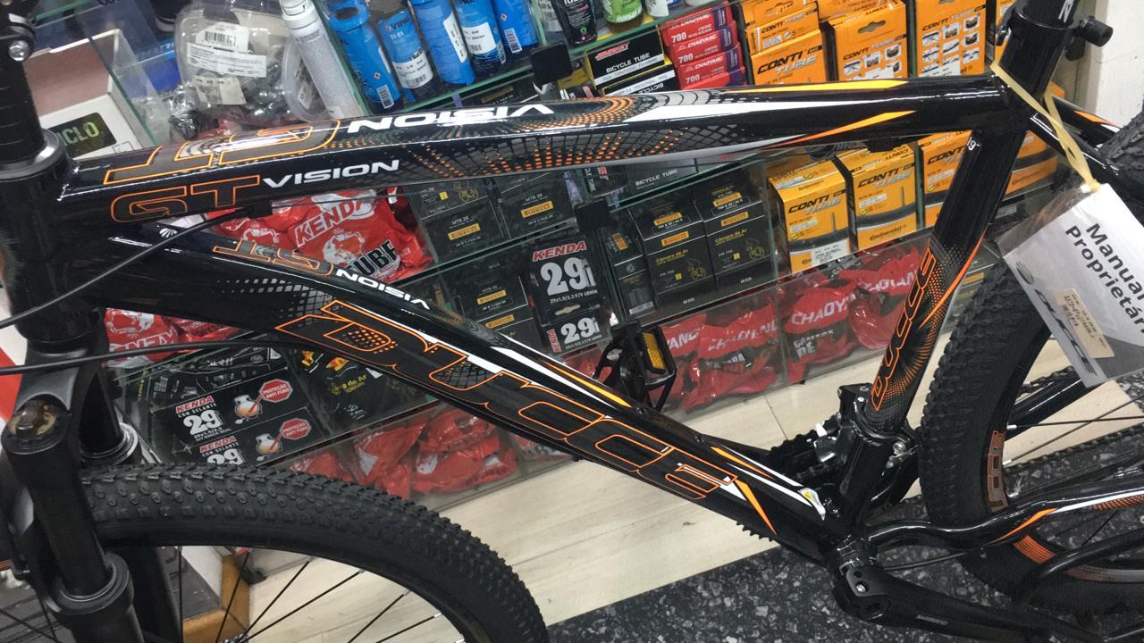 Bicicleta Ducce Vision GT X4 Aro 29 TAM 19 Preto/Laranja Neon