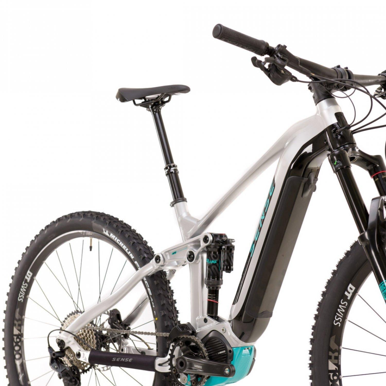Bicicleta Elétrica Impulsiva E-trail EVO 2021 ALU/AQU TAM M