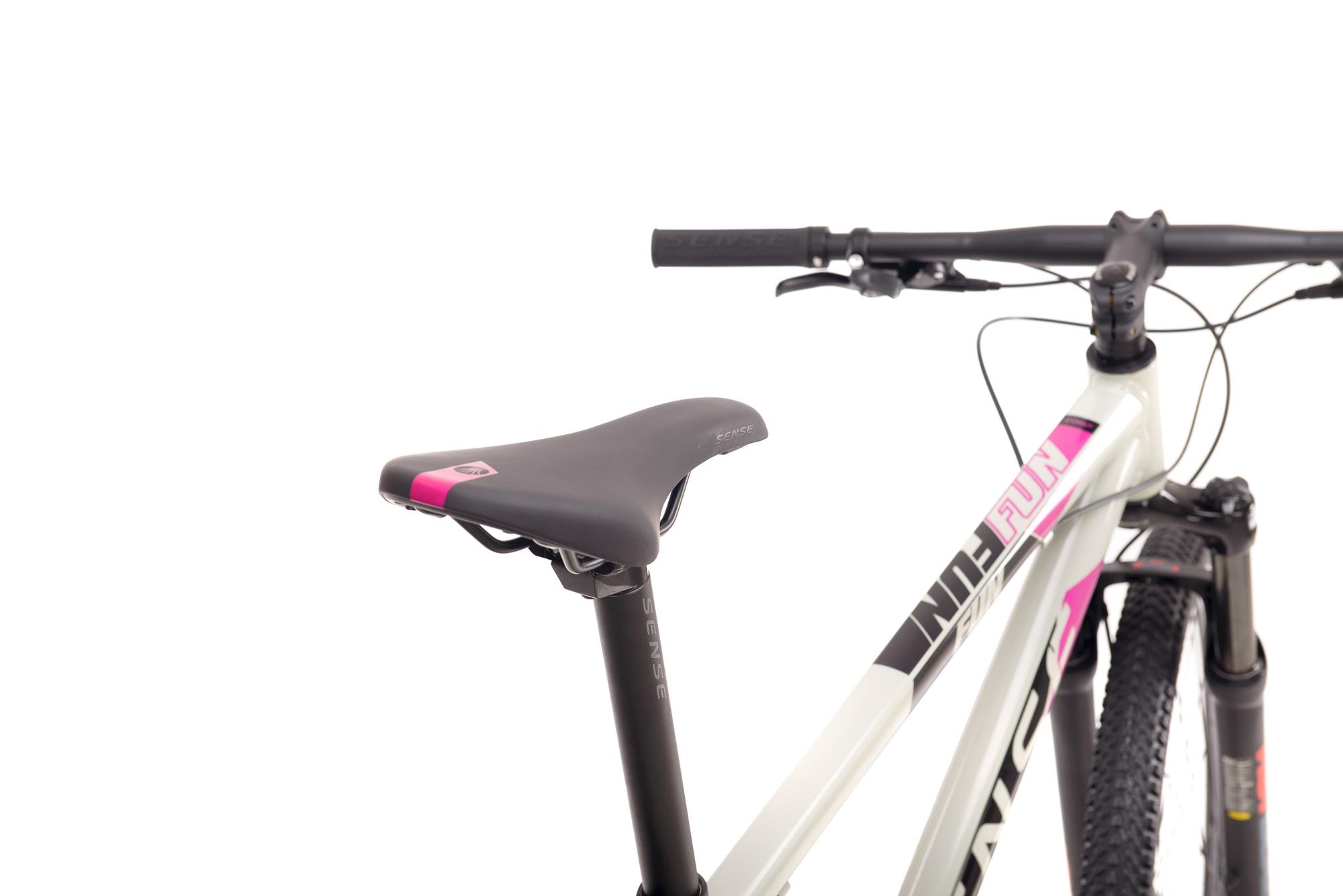Bicicleta Sense Fun Comp Cinza/Roxo TAM S