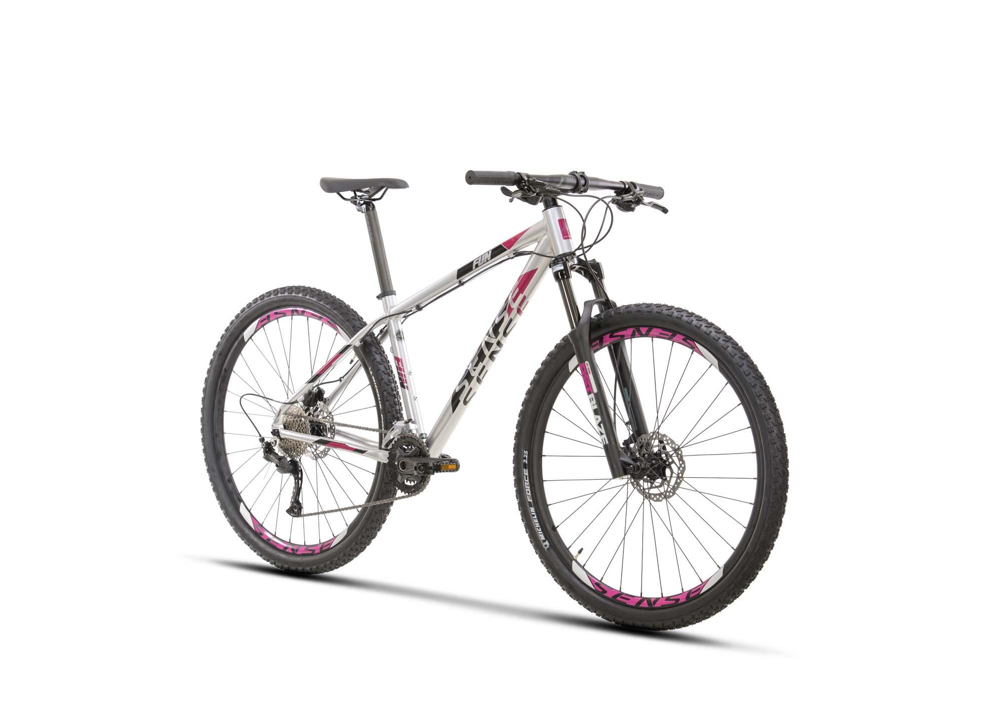 BICICLETA FUN EVO 2021/22 ALUM/ROXO TAM M
