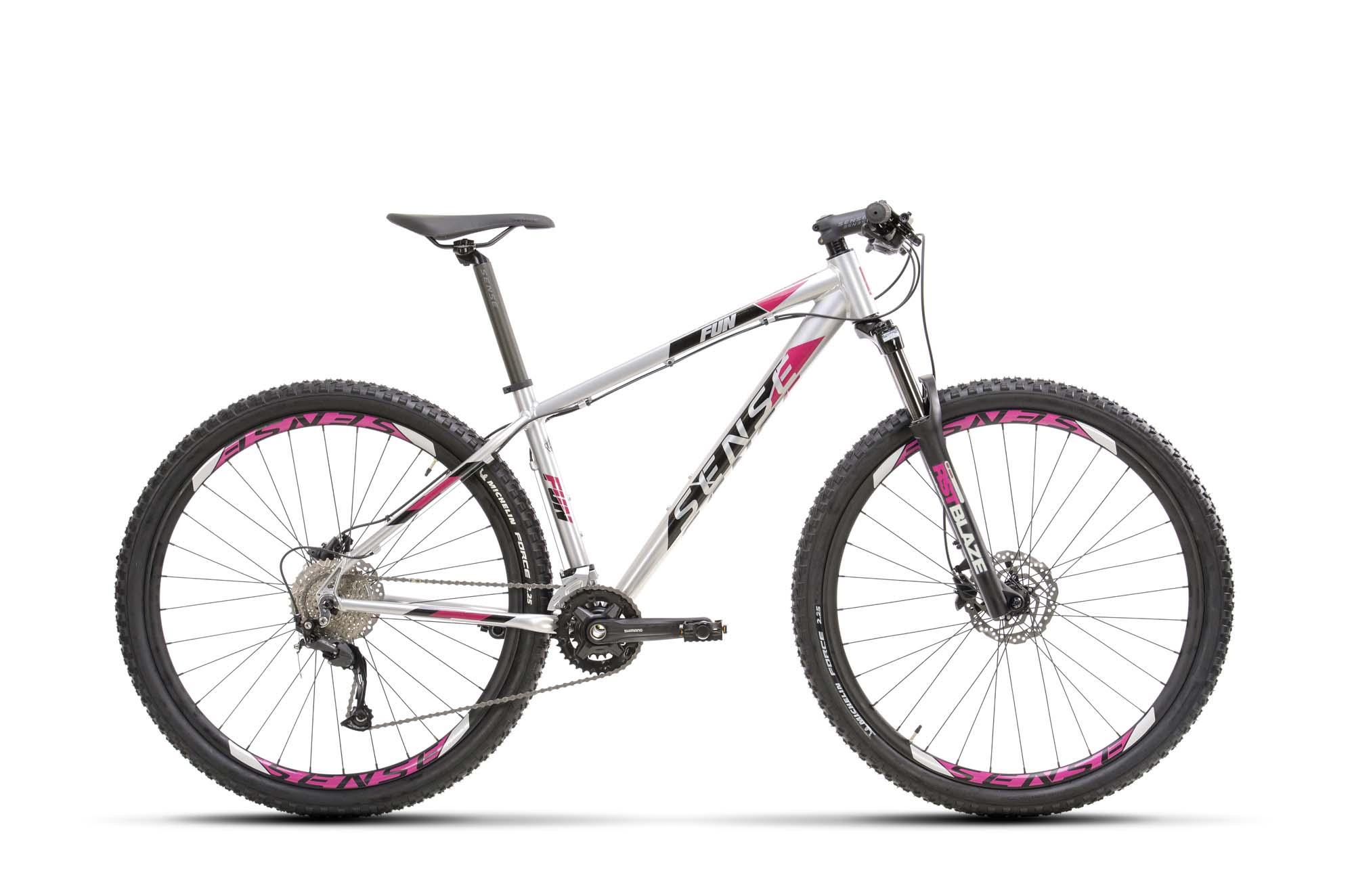 BICICLETA FUN EVO 2021/22 ALUM/ROXO TAM S