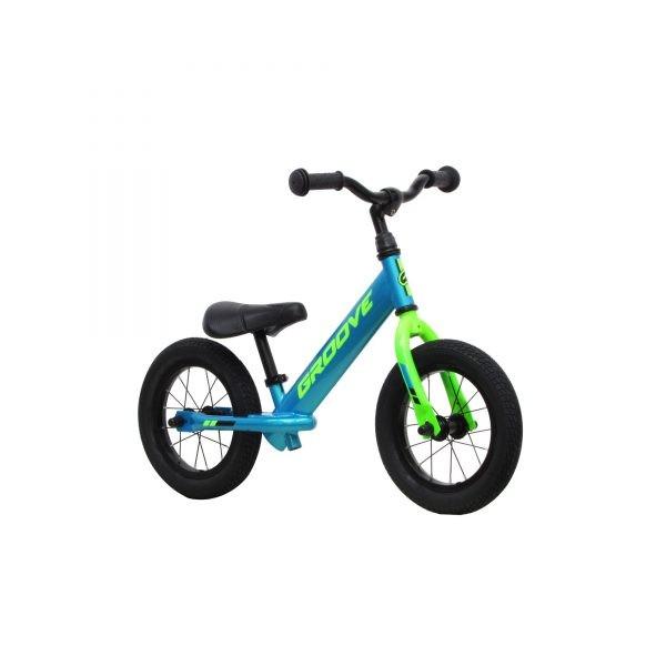 Bicicleta Groove Balance 12 Azul/verde + Brinde